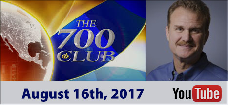 Mitch Zajac - Appearance on 700 club August 16th, 2017